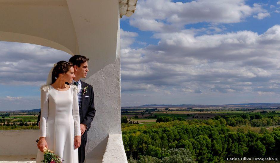 La boda de César y Pilar en Zuera, Zaragoza