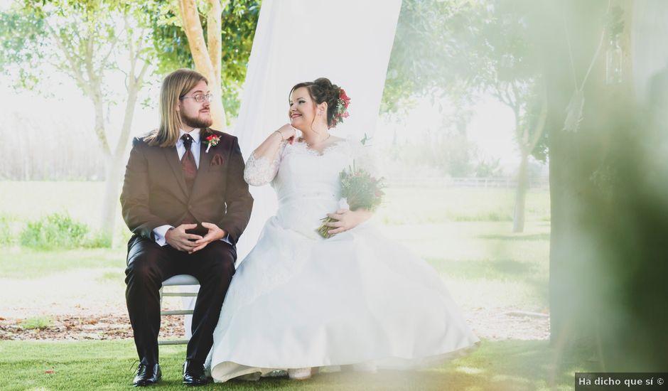 La boda de Miguel y Sara en Daya Vieja, Alicante