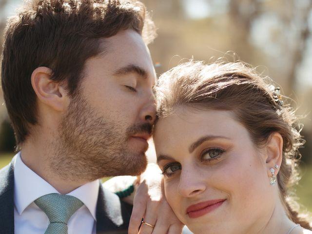La boda de Miguel y Lili en Torremocha Del Jarama, Madrid 1