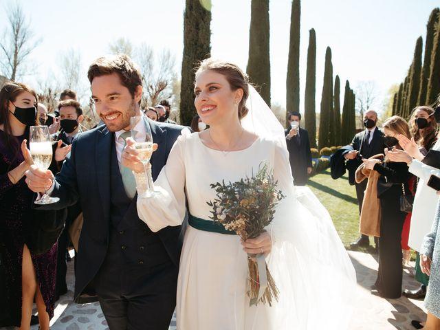 La boda de Miguel y Lili en Torremocha Del Jarama, Madrid 2