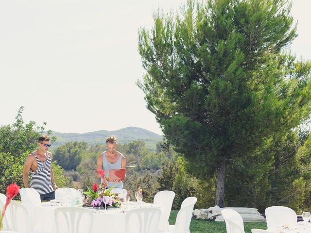 La boda de Dennis y Alexander en Eivissa, Islas Baleares 3