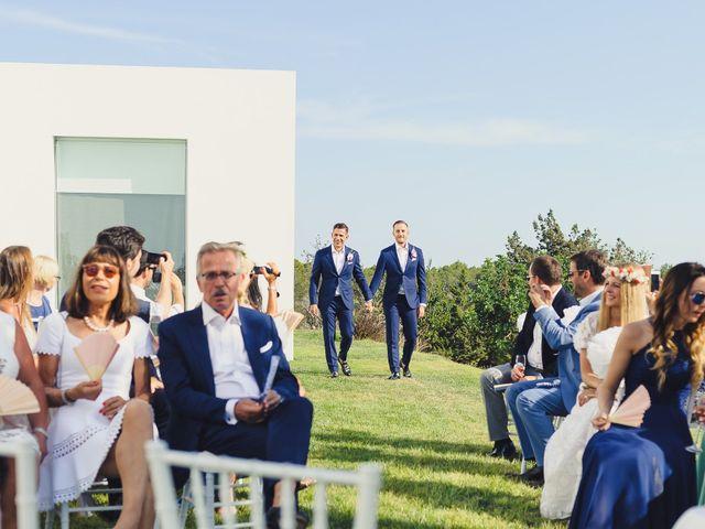 La boda de Dennis y Alexander en Eivissa, Islas Baleares 14