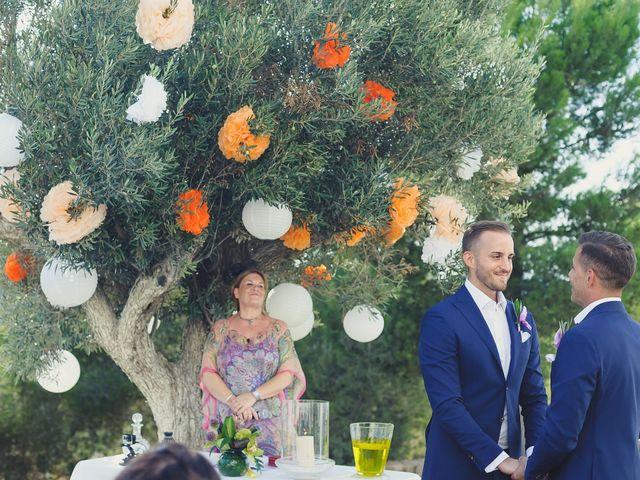 La boda de Dennis y Alexander en Eivissa, Islas Baleares 21