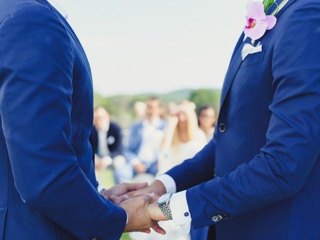 La boda de Dennis y Alexander en Eivissa, Islas Baleares 22
