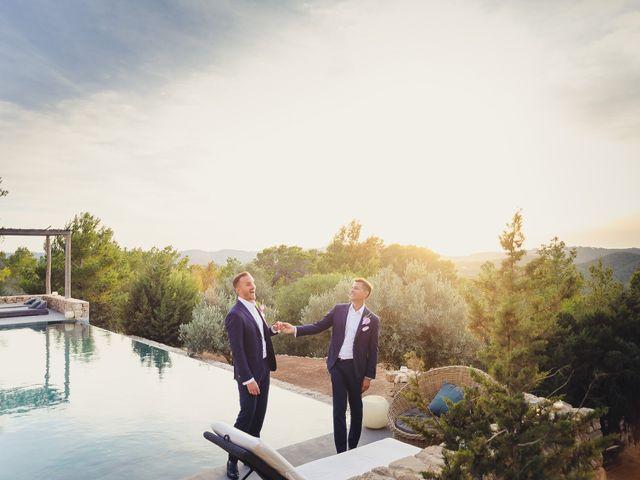 La boda de Alexander y Dennis