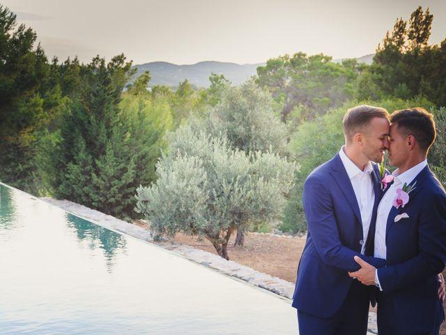 La boda de Dennis y Alexander en Eivissa, Islas Baleares 45