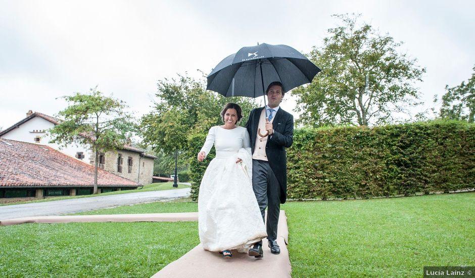 La boda de Javier y Carmen en Comillas, Cantabria