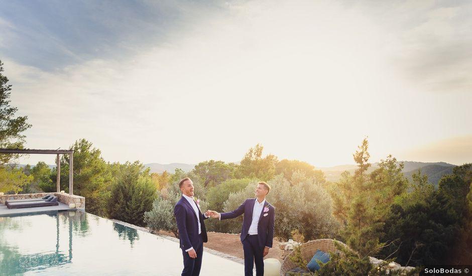 La boda de Dennis y Alexander en Eivissa, Islas Baleares