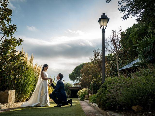 La boda de Isaac y Tamara en El Vellon, Madrid 2