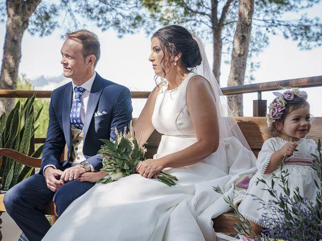 La boda de Ángel y Bárbara en Jaén, Jaén 24