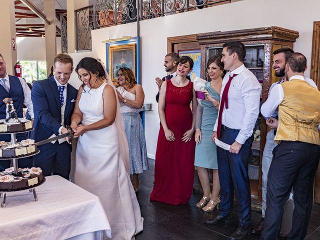 La boda de Ángel y Bárbara en Jaén, Jaén 41