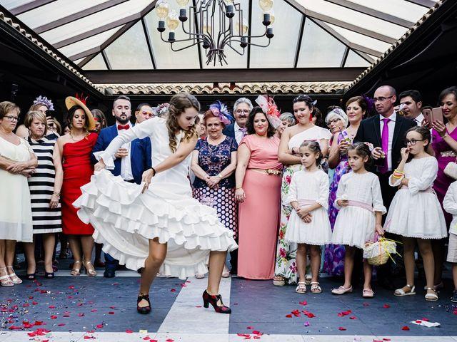 La boda de Ángel y Bárbara en Jaén, Jaén 44