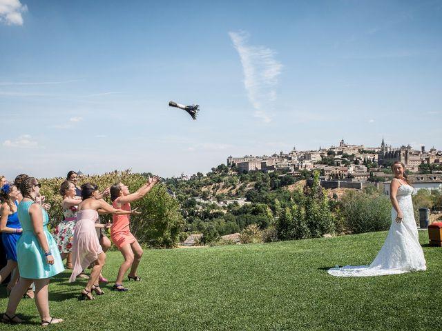 La boda de Carlos y Laura en Toledo, Toledo 33