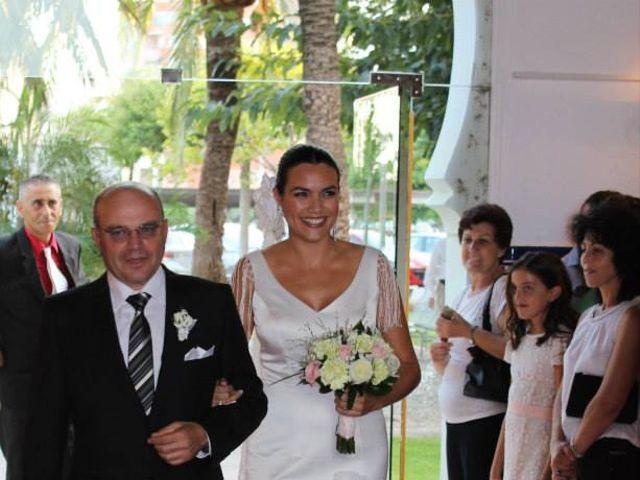 La boda de Toro  y Marié en Grao de Castellón, Valencia 17