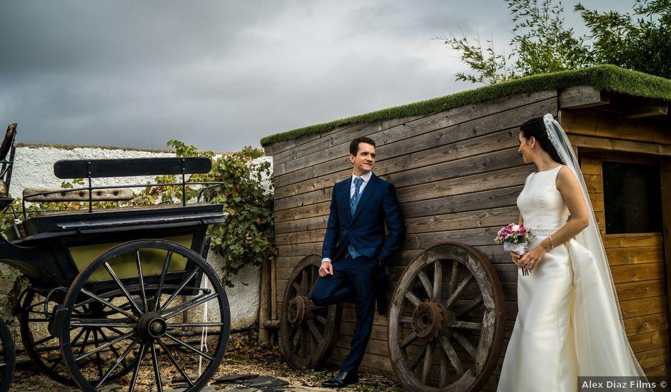 La boda de Isaac y Tamara en El Vellon, Madrid