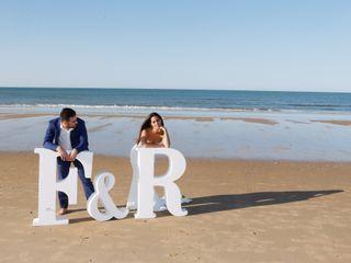 La boda de Rosario y Fabio