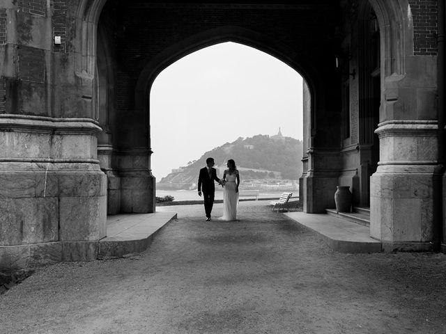 La boda de Álvaro y Idoia en Donostia-San Sebastián, Guipúzcoa 2