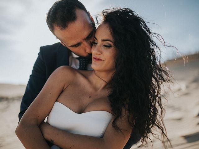 La boda de Jordi y Isa en Torre Del Mar, Málaga 104