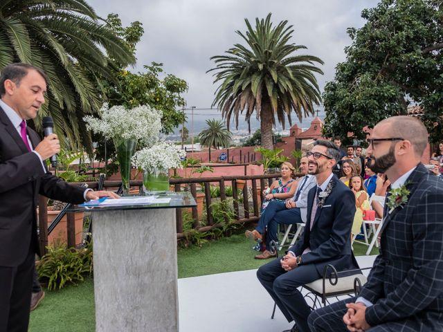 La boda de Sergio y Javi en Puerto De La Cruz, Santa Cruz de Tenerife 38