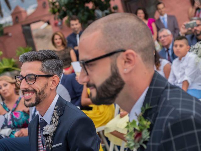 La boda de Sergio y Javi en Puerto De La Cruz, Santa Cruz de Tenerife 40