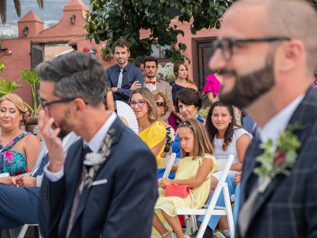 La boda de Sergio y Javi en Puerto De La Cruz, Santa Cruz de Tenerife 42