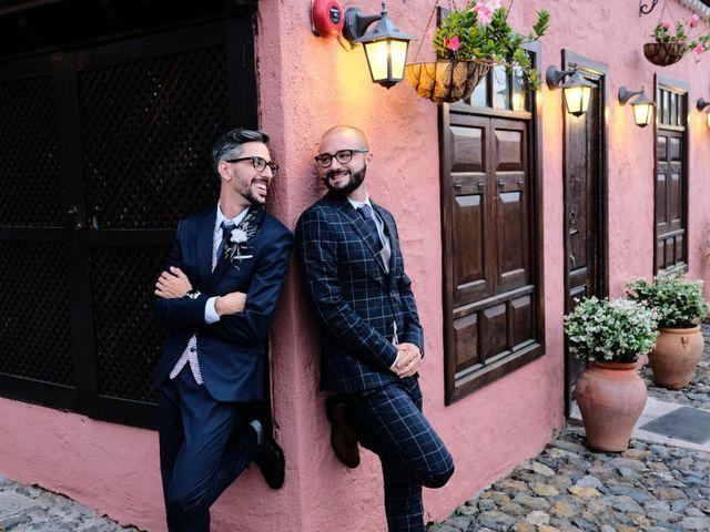 La boda de Sergio y Javi en Puerto De La Cruz, Santa Cruz de Tenerife 46