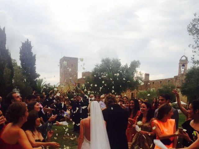 La boda de Sergi  y Gis en Castell D'emporda, Girona 4