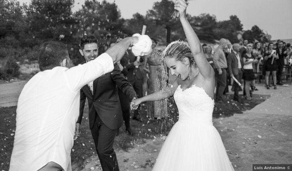 La boda de Óscar y Diana en L' Ametlla De Mar, Tarragona
