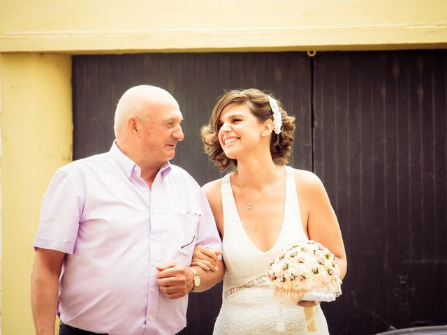 La boda de Dani y Estefania en San Fernando, Cádiz 6
