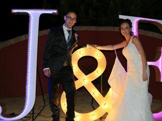 La boda de Juan Bautista y Elizabeth
