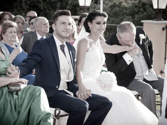 La boda de Pablo y Leticia en Mangiron, Madrid 12