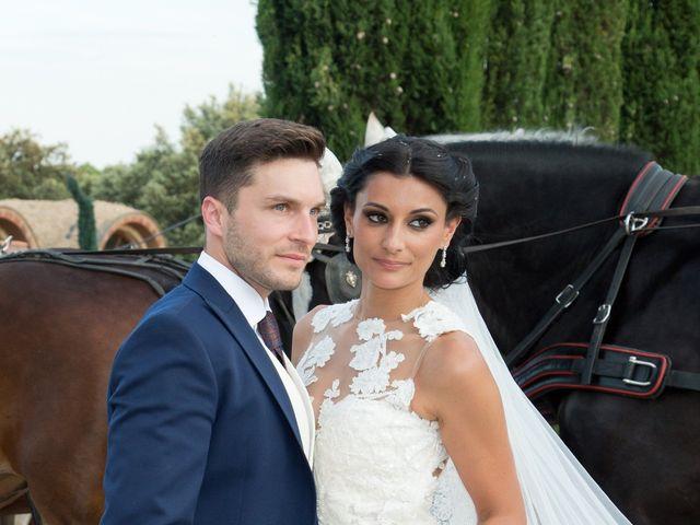 La boda de Pablo y Leticia en Mangiron, Madrid 22