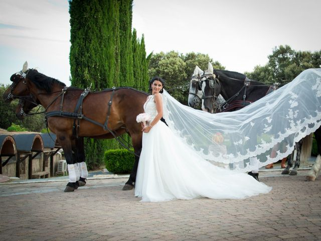 La boda de Pablo y Leticia en Mangiron, Madrid 23