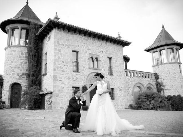 La boda de Pablo y Leticia en Mangiron, Madrid 1