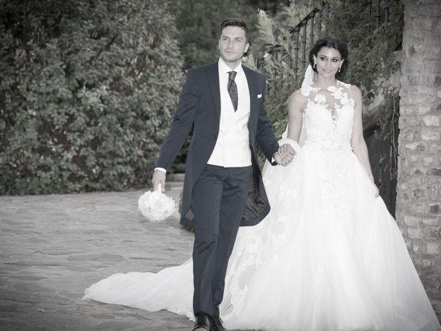 La boda de Pablo y Leticia en Mangiron, Madrid 2