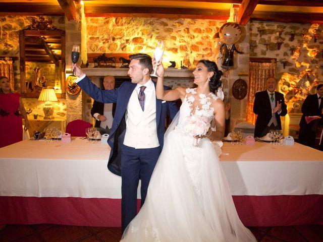 La boda de Pablo y Leticia en Mangiron, Madrid 43