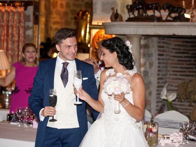 La boda de Pablo y Leticia en Mangiron, Madrid 45