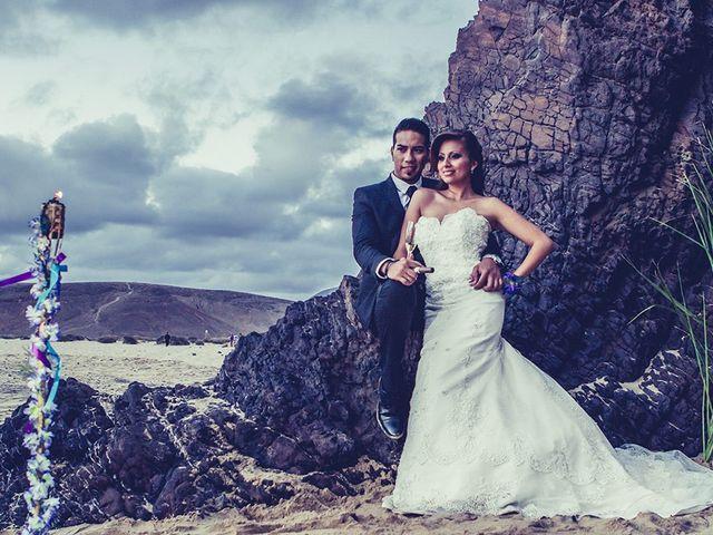 La boda de Edison y Tatyana en Playa Blanca (Yaiza), Las Palmas 54