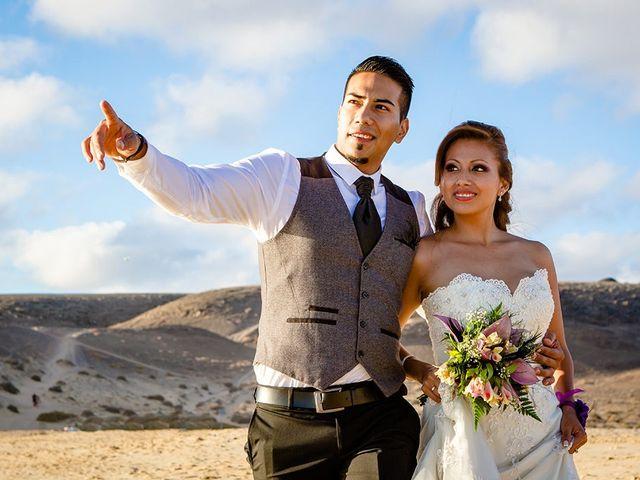 La boda de Edison y Tatyana en Playa Blanca (Yaiza), Las Palmas 56