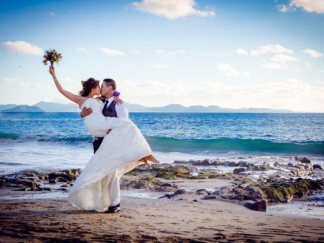 La boda de Edison y Tatyana en Playa Blanca (Yaiza), Las Palmas 57