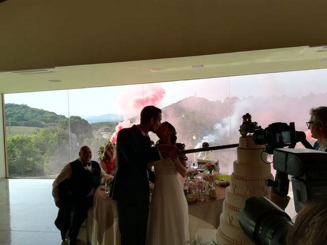 La boda de Hector y Carla en Sant Fost De Campsentelles, Barcelona 2