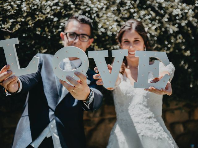 La boda de Albert y Cristina en Fares, Girona 1