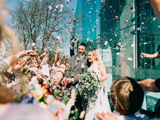 La boda de Katy y Jonny en Insua (Carnota), A Coruña 1
