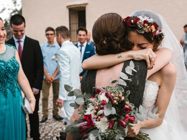 La boda de Edgar y Erika en Beniflá, Valencia 35