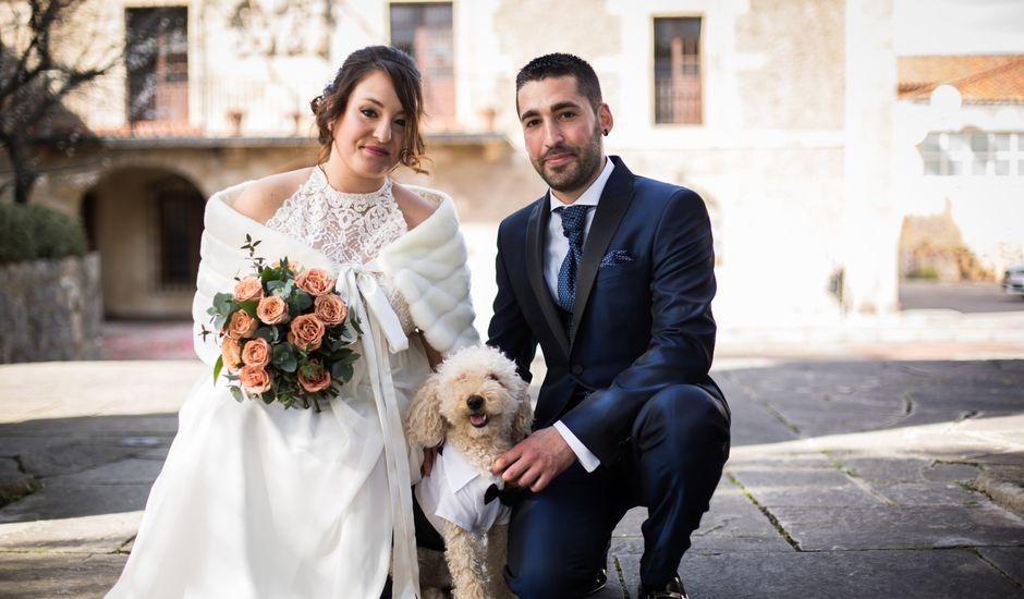 La boda de Rubén y Lorena en Hoz De Anero, Cantabria