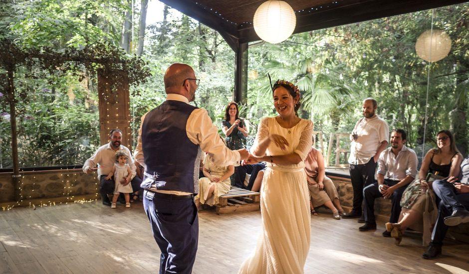 La boda de Jordi y Fabiola en Arbucies, Girona