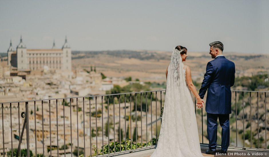 La boda de David y Bárbara en Toledo, Toledo