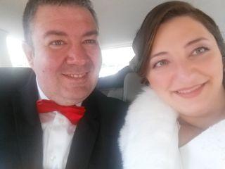 La boda de Simina  y Tomás