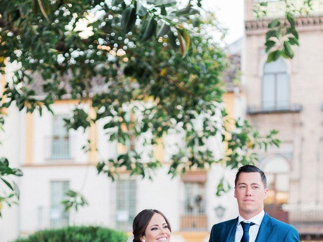 La boda de Alejandro y Ana en Espartinas, Sevilla 37