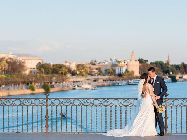 La boda de Alejandro y Ana en Espartinas, Sevilla 39